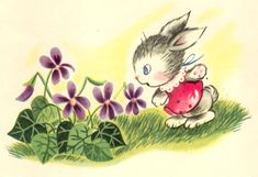 """by Charlotte Steiner, from """"A Surprise for Mrs. Bunny"""" World Distributors 1953."""