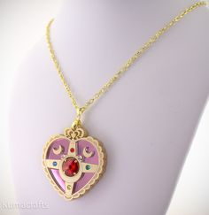 Sailor Moon inspired necklace @kumacrafts on etsy.