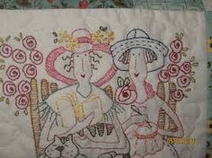 red brolly stitcheries - Google Search
