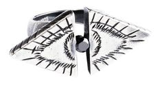 Double Illuminati Evil Eye Ring Leviticus