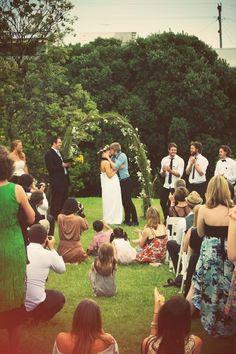 hippie wedding!