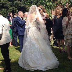 """Guy Ritchie and Jacqui Ainsley Say """"I Do"""" in a Gorgeous Wedding: Guy Ritchie married model Jacqui Ainsley in a beautiful ceremony at their country home in Wiltshire, England, on Thursday."""
