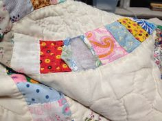 How to repair an old quilt. I wish I knew someone who could do this....my son's favorite quilt is falling apart!