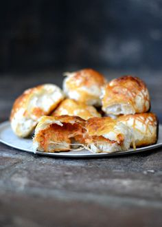 Cheesy Pizza Rolls, a family favorite!