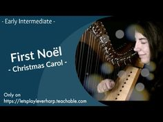 Eve Play On - Mélusine - by Camac Harp My version of this beautiful christmas carol - The First Noël 👍 Toss A coin to your Harpist - Lance un sou à la harpis. 27 Years Old, Christmas Carol, Beautiful Christmas, The One, Sheet Music, Let It Be, Songs, Learning, Play