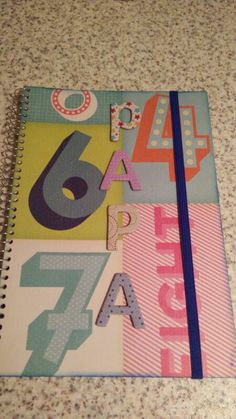 Cuaderno del día del padre.