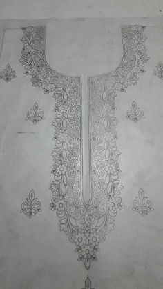 Tambour Embroidery, Couture Embroidery, Embroidery Motifs, Machine Embroidery Patterns, Embroidery Fashion, Lace Patterns, Sewing Patterns, Hand Embroidery Projects, Hand Work Embroidery