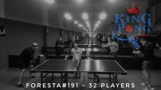 Turneul săptămânal #FORESTA etapa 191: 32 jucători #pingpong #tenisdemasa #asztalitenisz #tabletennis #tischtennis #oradea #newplaceintown #kingpongv20 #missionimpossible #showmustgoon