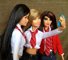 barbie rebelde rbd selfie