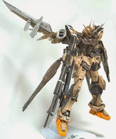 GUNDAM GUY: MG 1/100 Build Strike Eagle Gundam - Customized Build
