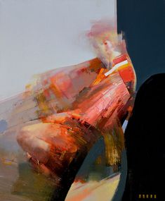 """Zin Lim - """"ID#03"""", painting, oil on canvas, 20 x 16 x 1 in, 2013."""