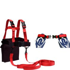 Lucky Bums Kids Ski Trainer Kit, Harness, Learn-to-Turn Leashes and Tip Clip - eBags.com