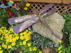 Repurpose Ceiling Fan  Dragonfly-Glows in the Dark