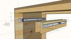 Garage Workbench Plans, Garage Workshop Plans, Building A Workbench, Woodworking Workbench, Woodworking Projects Diy, Lumber Storage Rack, Diy Garage Storage, Diy Garage Shelves, Pony Wall