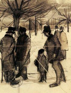 Vincent van Gogh - The Hague, March 1883.