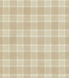 Upholstery Fabric-Waverly Pendant Plaid/Oat , , hi-res