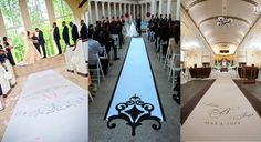 Wedding aisle runners fit for a princess wedding #princessaislerunners, #weddingaislerunners