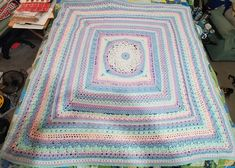 Ravelry: bsdmhutch's Around the Bases Twin Quilt Pattern, Quilt Patterns, Free Website, Ravelry, Bohemian Rug, Quilts, Blanket, Crochet, Quilt Pattern