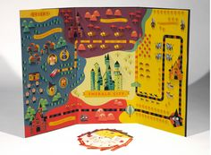 """""""Emerald City""""- a board game based on """"The Wonderful Wizard of Oz"""" written by Frank Baum."""