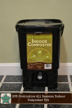 bokashi composting with the scd probiotics all seasons indoor composter kit