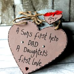 new dad gifts - Daddy gift handmade - Gift Ideas For DAD - We're talking Birthday Gift Ideas for Dad, Daddy , Grandad, Father's Day Gift Ideas, Christmas Gifts too! Think grandad gifts from kids and you're also onto a winner! Handmade by MadeAt94