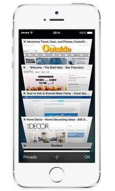 Safari: Visualización de pestañas y Navegación Privada en iOS 7. #AyudaiPhoneMx #Apple #iOS