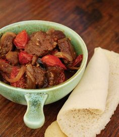 """Ethiopian Lamb from """"The Hungry Girls' Cookbook"""" Lamb Recipes, Indian Food Recipes, African Recipes, Dinner Recipes, Ethnic Recipes, Ethiopian Cuisine, Ethiopian Recipes, Ethopian Food, Healthy Food Choices"""