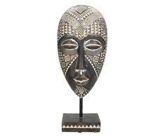 Deko-Objekt Sioux II | Westwing Ornaments, Sioux, Material, Products, African Masks, African, International Style, Exotic, Beautiful Homes