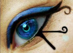 Fantastic Eyeball Eye Shadow Art - Photoshop - Beautiful Colors!