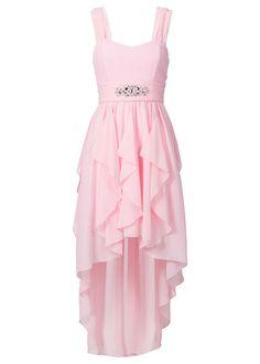 spolocenske saty pre baculky – Vyhľadávanie Google Short Sparkly Dresses, Pink Sparkly Dress, Hi Low Dresses, Elegant Dresses, Pink Dress, Nice Dresses, Short Dresses, High Low Cocktail Dress, Pink High Low Dress