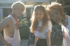 New Group Triple H, Featuring Hyuna, Hui, and E'Dawn Promote For Their Debut! | Koogle TV