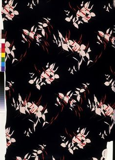 Dress fabric | Calico Printers' Association | V Search the Collections