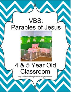 Parables of Jesus VBS: Decorating