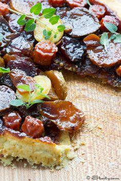 Root Vegetable Tarte Tartin
