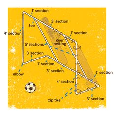 How To Build A Soccer Goal
