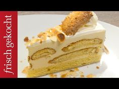Malakofftorte (Eveline Wild) - YouTube Eveline Wild, Vanilla Cake, Food And Drink, Cupcakes, Cookies, Make It Yourself, Baking, Ethnic Recipes, Desserts