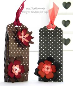 Stampin' Up! Demonstrator Pootles - Green and Blacks Chocolate Pouch Tutorial