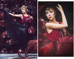 Get this look: http://lb.nu/look/6711030  More looks by Sofia R: http://lb.nu/user/3163837-Sofia-R  Items in this look:  Vintage Black Skirt, Sammy Dress Oxford Shoes, Burgundy Top, Romwe Burgundy Bag, Caroll Burgundy Hat   #artistic #chic #elegant