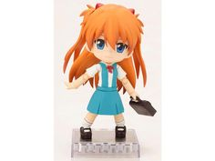 Evangelion: 2.0 You Can (Not) Advance Cu-Poche Figure - Asuka Langley - Evangelion Action Figures