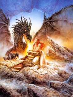 Image result for luis royo dragon