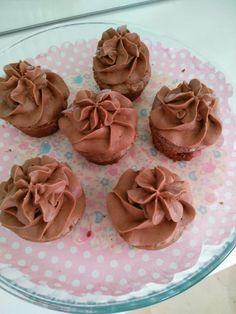Brownies amb butter cream de nutella