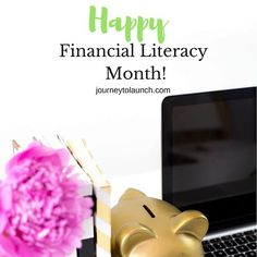 It's Financial Literacy Month! Not like you need a designated month to tell you how important your finances are, right? Nonetheless, financial literacy is a problem in America that we can't ignore. Educate yourself this month on financial terms and work on improving the state of your finances. Don't forget to share what you learn with family and friends. ⠀ ______⠀ Check out my blog for articles and tips and tag a friend so that they can learn more too!