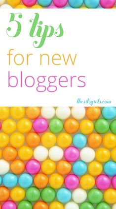 5 tips for new bloggers to help them get started in the right direction - from blogging platforms and images to networking and combating writers block.