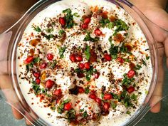 Craving the famous Dahi Bhallas from Chandani Chowk? Check out the recipe now and enjoy at home right away. Indian Street Food, Hummus, Pasta Salad, Cravings, Ethnic Recipes, Check, Crab Pasta Salad