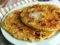 Pecan Maple Bacon Pancakes