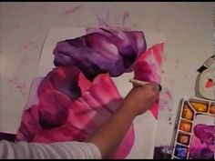 In this http://ArtistsNetwork.tv video workshop, follow Birgit O'Connor's step-by-step demonstration as she shows you how to paint Watercolor Poppies. Preview Watercolor Poppies with Birgit O'Connor here now. Practice choosing color and preparing for a large wet-into-wet watercolor wash, learn tips for achieving blended effects, and discover how to work with values and edges for details that bring your watercolor painting to life.