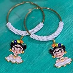 Stitch 2, Peyote Stitch, Brick Stitch, Hama Beads, Pixel Art, Jewerly, Earrings, Decoupage, Beading