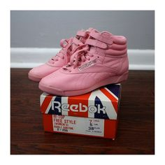 I had these in the mid 80s..but not in high tops.. but in pink!  Loved these shoes!  wish they still made them in pink..
