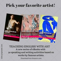 Teaching English with Art: Matisse, Picasso, Caravaggio