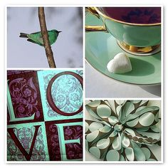 https://flic.kr/p/7FKNUh   Things I love Thursday - LOVE, tea, hearts, birds, presents with lovely bows, green and brown....and the list goes on.....   Some photos I've come across that I love.  These photos are the property of the photographers linked to below.   1. Macho de Saí-azul, Saí, Saí-bico-fino ou Saí-bicudo -  (Dacnis cayana) - A male of a Blue Dacnis or Turquoise Honeycreeper - 16-05-09 - IMG_9326, 2. A gift bag with a meaning;), 3. With Love, 4. 3 Loop Bow  Created with fd's…